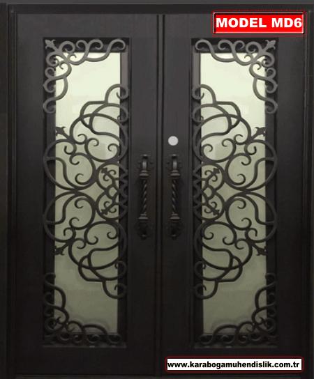 Ferforje apartman kapı ve demir apartman kapısı çeşitlerimiz kaliteli malzemeden, yılların tecrübesiyle üretilir. Ekonomik ürün çeşitlerimizle hizmetinizdeyiz.